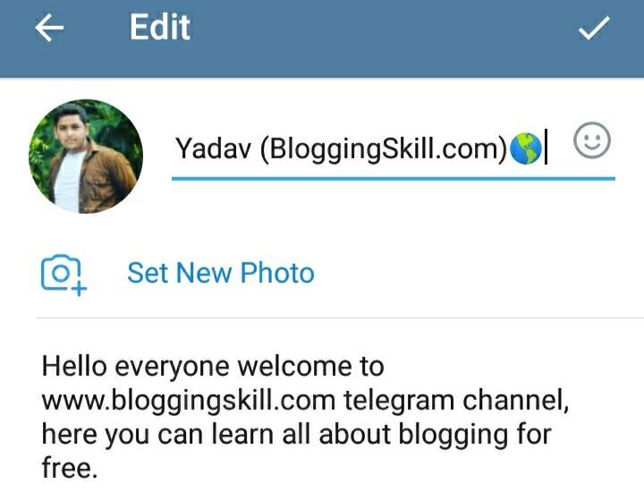 Telegram step 5